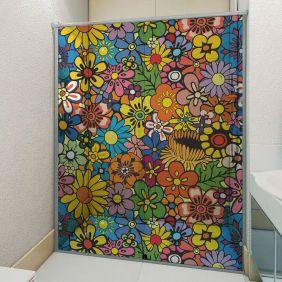 Adesivo Box Banheiro 3d Sob Medida - Mod 96