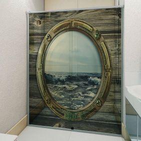 Adesivo Box Banheiro 3d Sob Medida - Mod 38