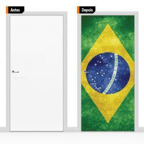 Adesivo Decorativo Para Porta Ban01