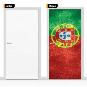 Adesivo Decorativo Para Porta Ban02