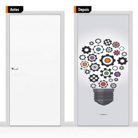 Adesivo Decorativo Para Porta Cri08