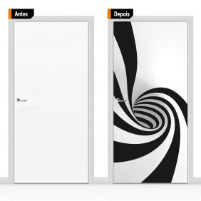 Adesivo Decorativo Para Porta Cri10