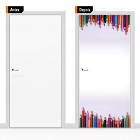 Adesivo Decorativo Para Porta Cri14