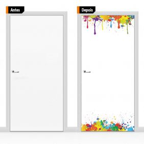 Adesivo Decorativo Para Porta Cri16