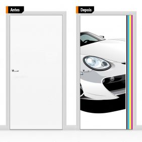 Adesivo Decorativo Para Porta Esp01