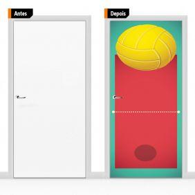 Adesivo Decorativo Para Porta Esp04
