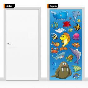 Adesivo Decorativo Para Porta Inf18