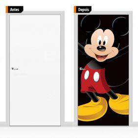 Adesivo Decorativo Porta Mickey