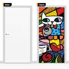 Adesivo Decorativo Porta Romero Brito02