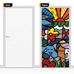 Adesivo Decorativo Porta Romero Brito03