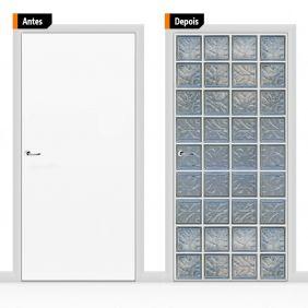 Adesivo Decorativo Porta Textura Pex10
