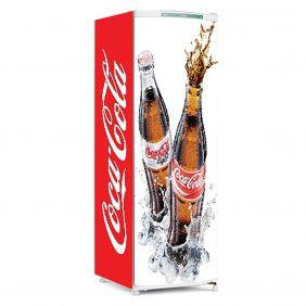 Adesivo Para Geladeira Coca-cola -Ref Mod01
