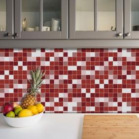 Azulejos Adesivos Pastilha Cozinha Banheiro Decoração Mod8
