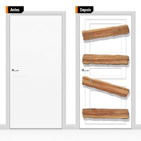 Adesivo Decorativo Para Porta Cri09