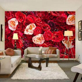 Painel Adesivo Fotográfico Floral Flores 7,2m² M6