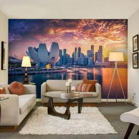 Painel Adesivo Fotográfico Parede Cidades Países 7,2m² M15