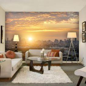 Painel Adesivo Fotográfico Parede Cidades Países 7,2m² M16