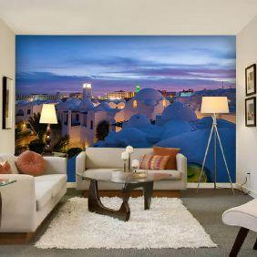 Painel Adesivo Fotográfico Parede Cidades Países 7,2m² M18