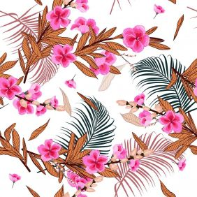 Painel Adesivo Papel Parede Flores Florais Natureza Gigantes- Ref PFG07