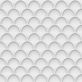 Papel De Parede 3d Branco 2 Autocolante Rolo 0,50x3,00