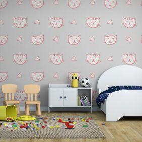 Papel De Parede Adesivo Infantil Quarto Sala INF11