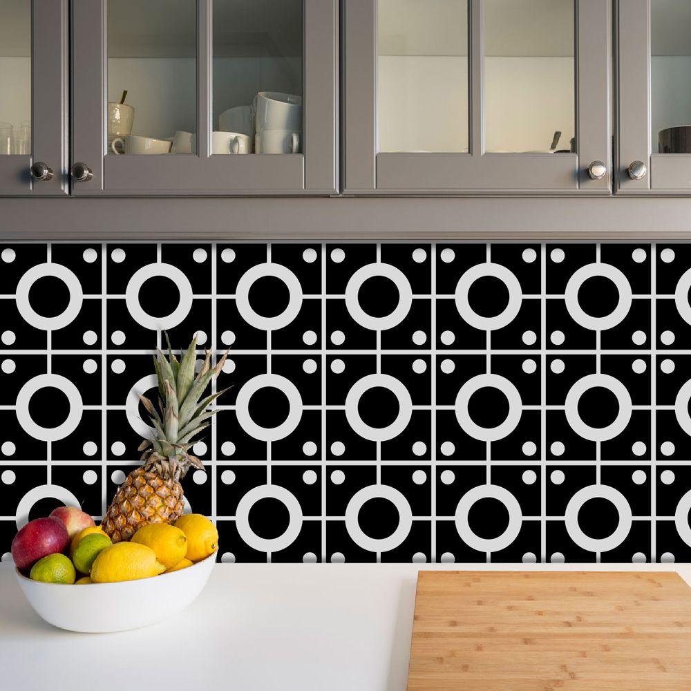 Adesivo Azulejo Português Ladrilho Para Cozinha Mod25