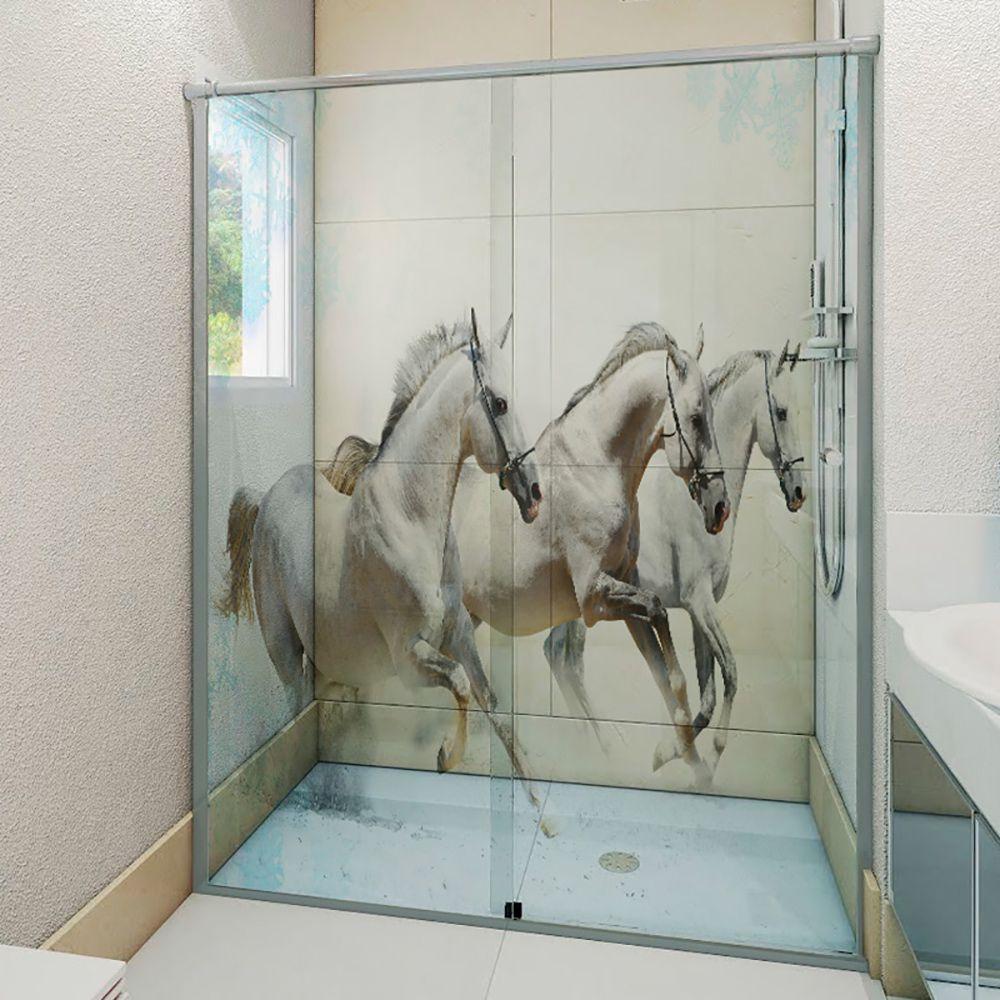 Adesivo Box Banheiro 3d Sob Medida - Mod 125