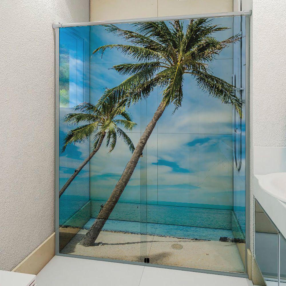 Adesivo Box Banheiro 3d Sob Medida - Mod 207