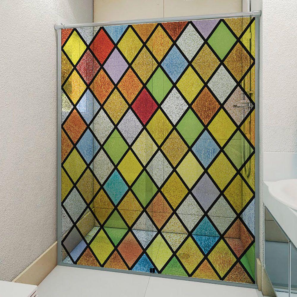 Adesivo Box Banheiro 3d Sob Medida - Mod 212