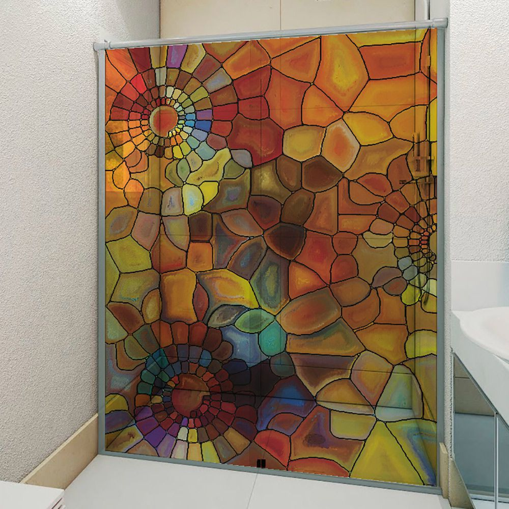 Adesivo Box Banheiro 3d Sob Medida - Mod 213