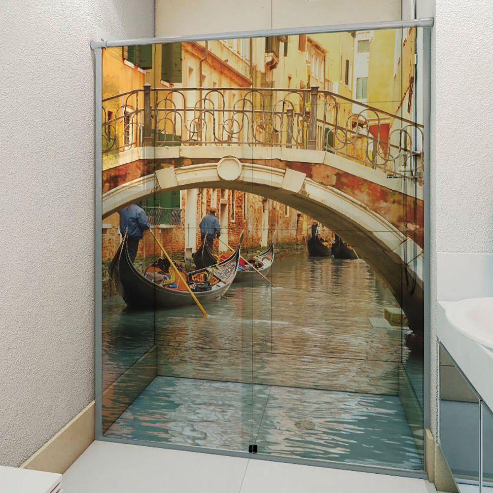 Adesivo Box Banheiro 3d Sob Medida - Mod 35