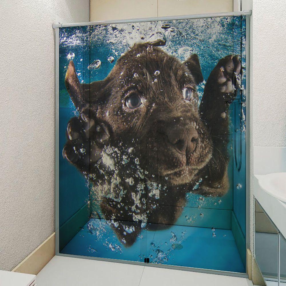 Adesivo Box Banheiro 3d Sob Medida - Mod 4