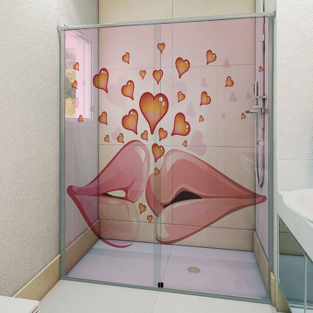 Adesivo Box Banheiro 3d Sob Medida - Mod 50
