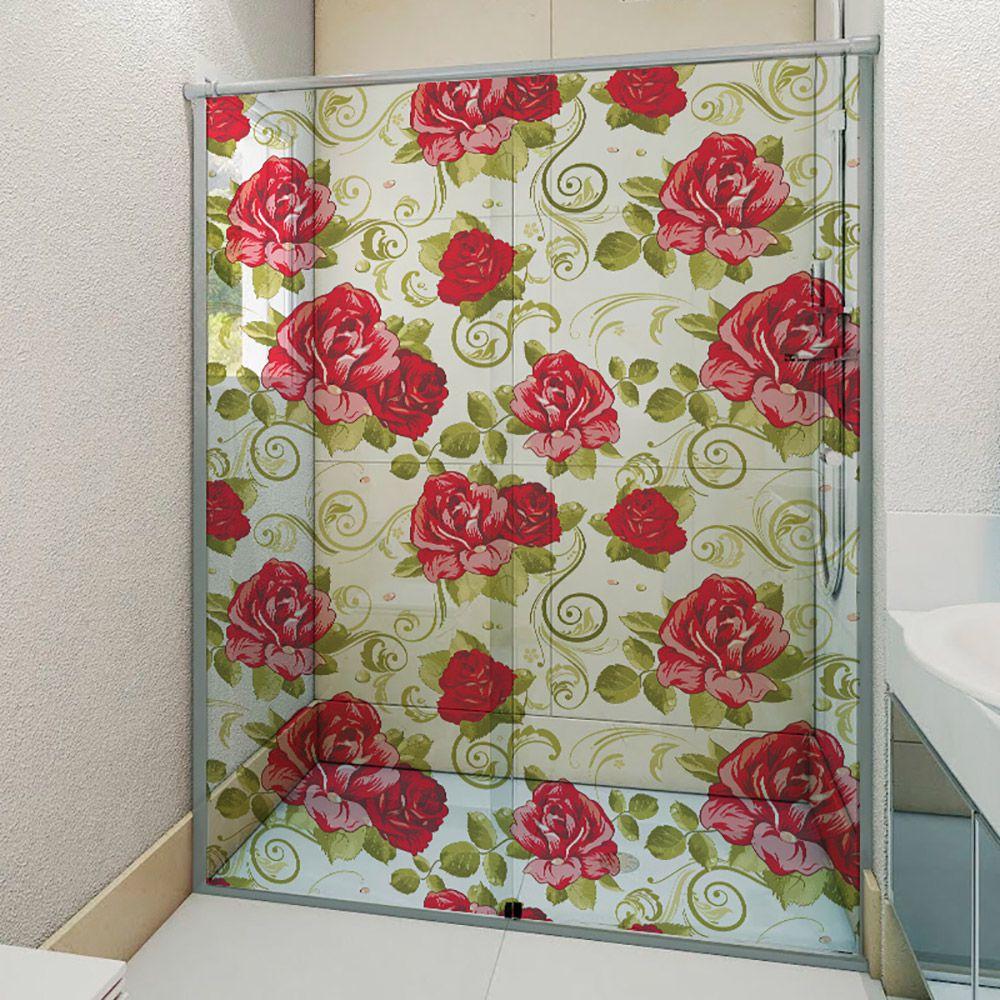 Adesivo Box Banheiro 3d Sob Medida - Mod 92