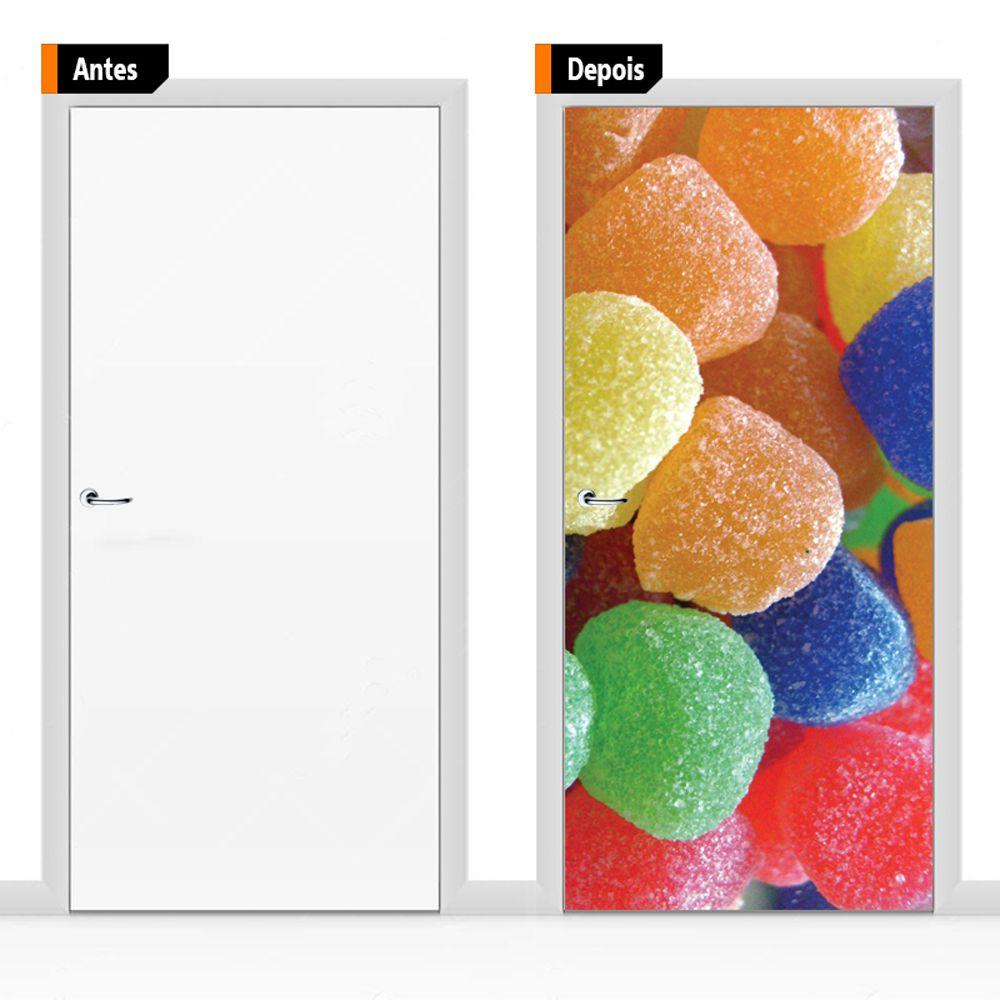 Adesivo Decorativo Para Porta Ali010