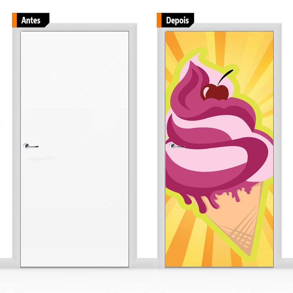 Adesivo Decorativo Para Porta Ali01