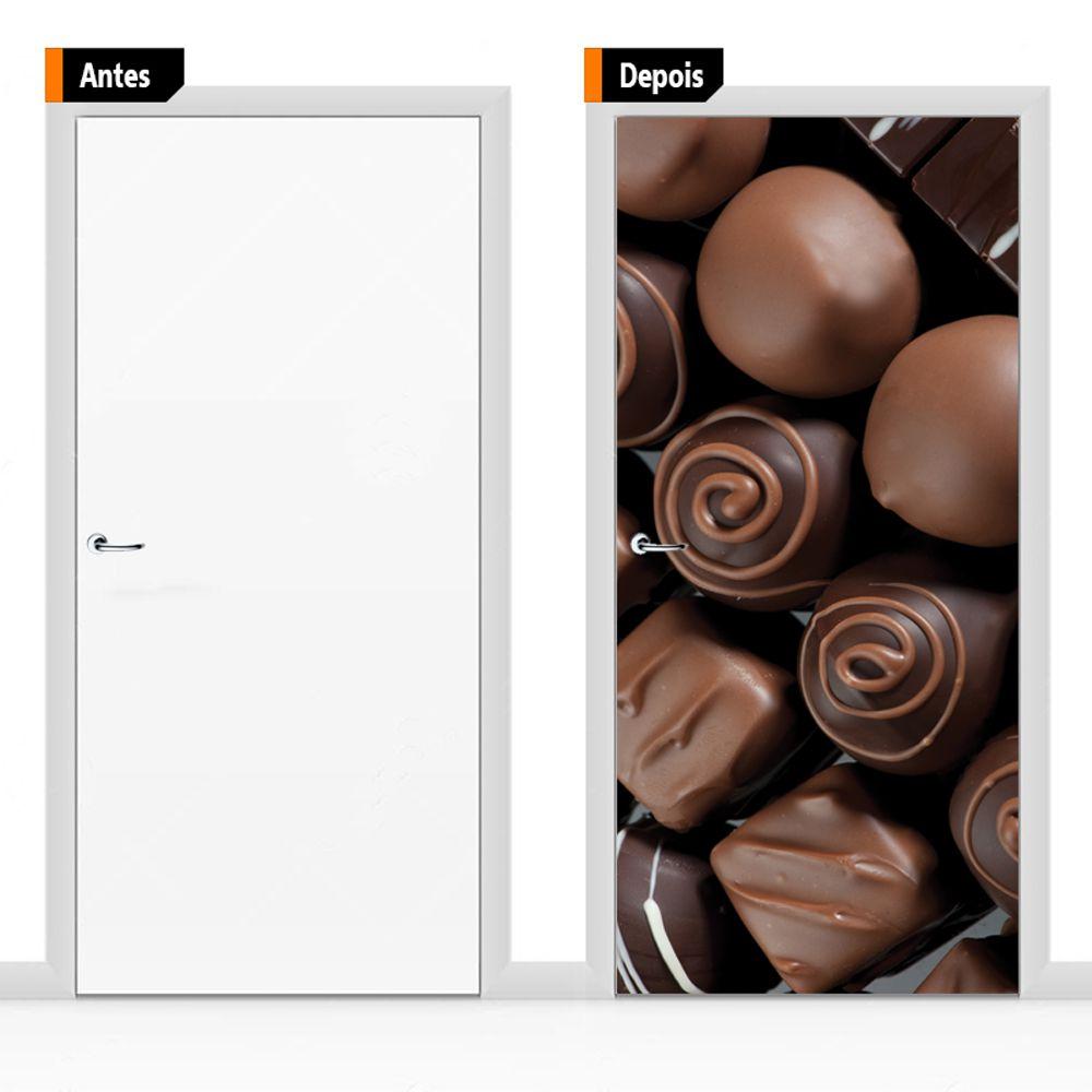 Adesivo Decorativo Para Porta Ali06