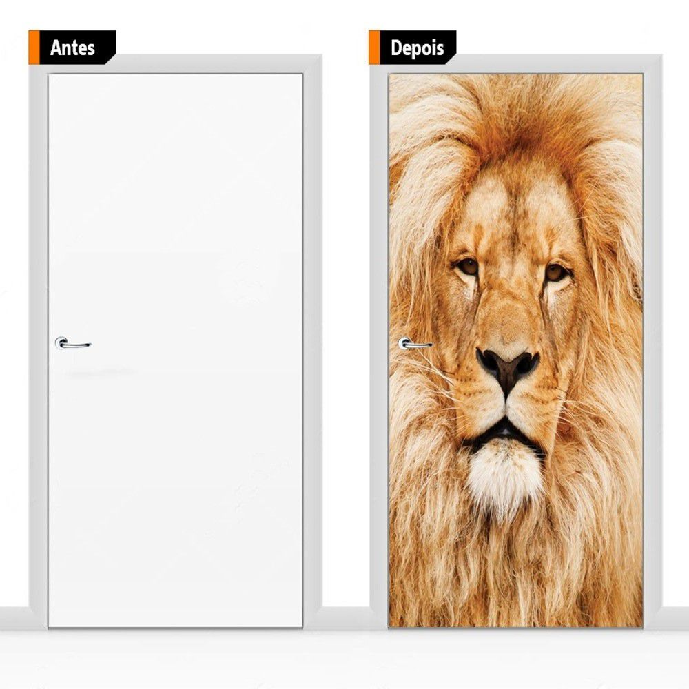 Adesivo Decorativo Para Porta Ani07
