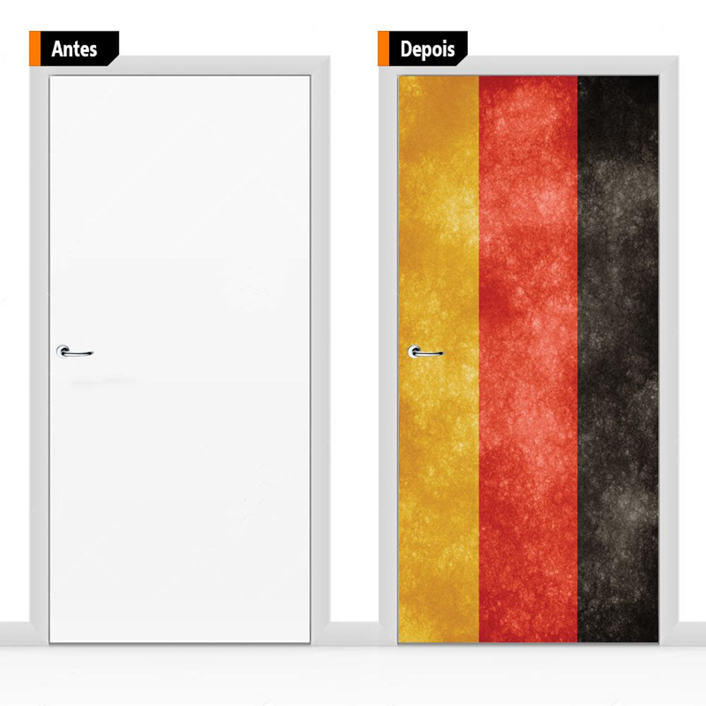 Adesivo Decorativo Para Porta Ban06