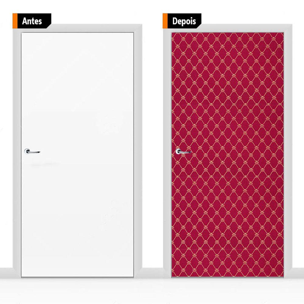 Adesivo Decorativo Porta Textura Pex11