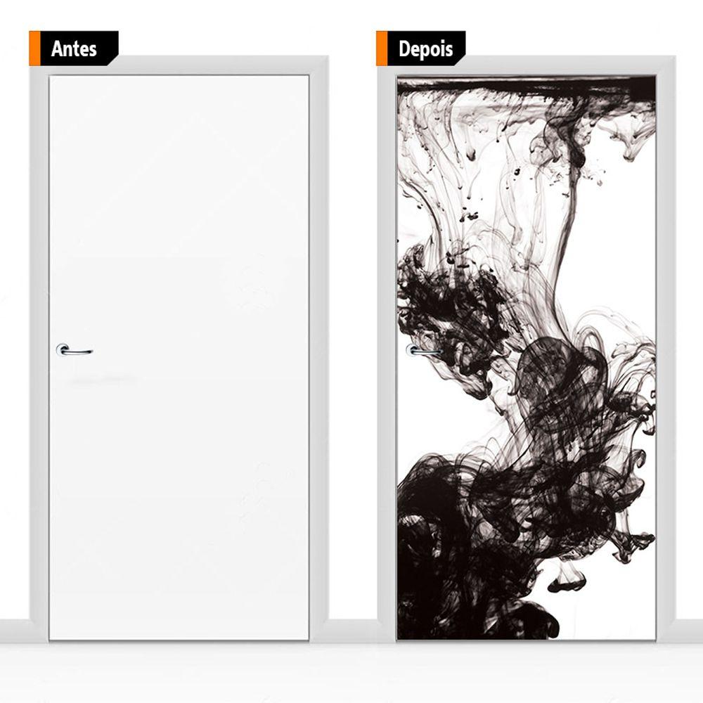 Adesivo Decorativo Porta Textura Pex12