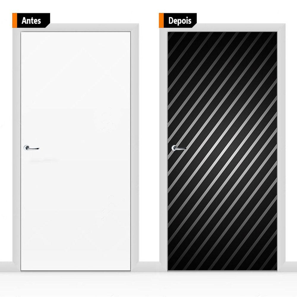 Adesivo Decorativo Porta Textura Pex16