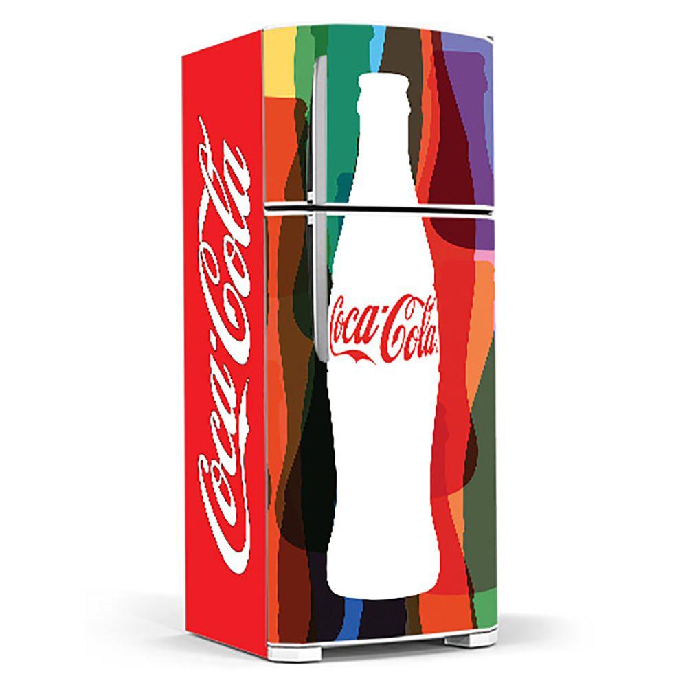 Adesivo Para Geladeira Coca-cola -Ref Mod02