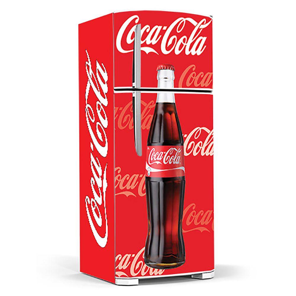 Adesivo Para Geladeira Coca-cola -Ref Mod03