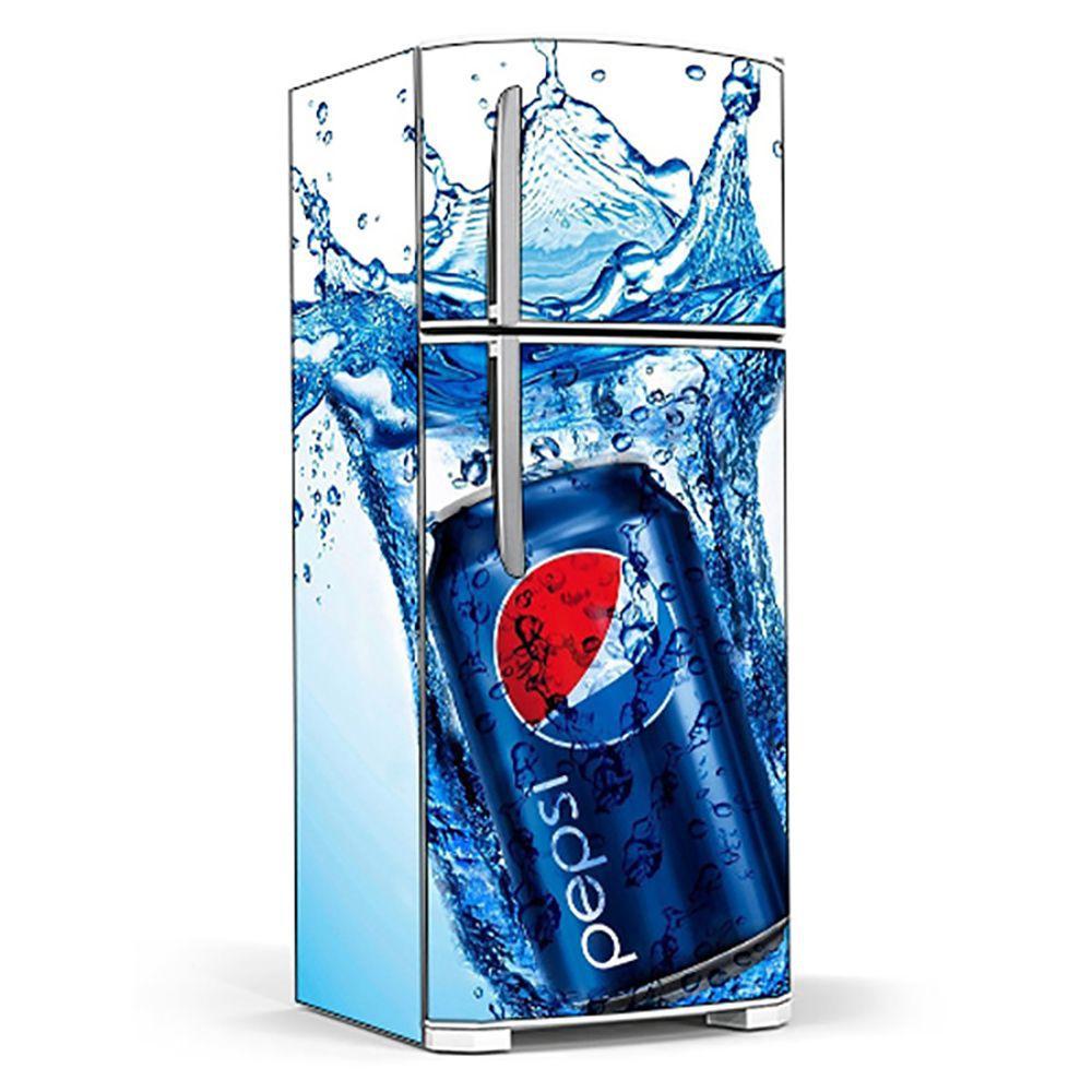 Adesivo Para Geladeira Pepsi