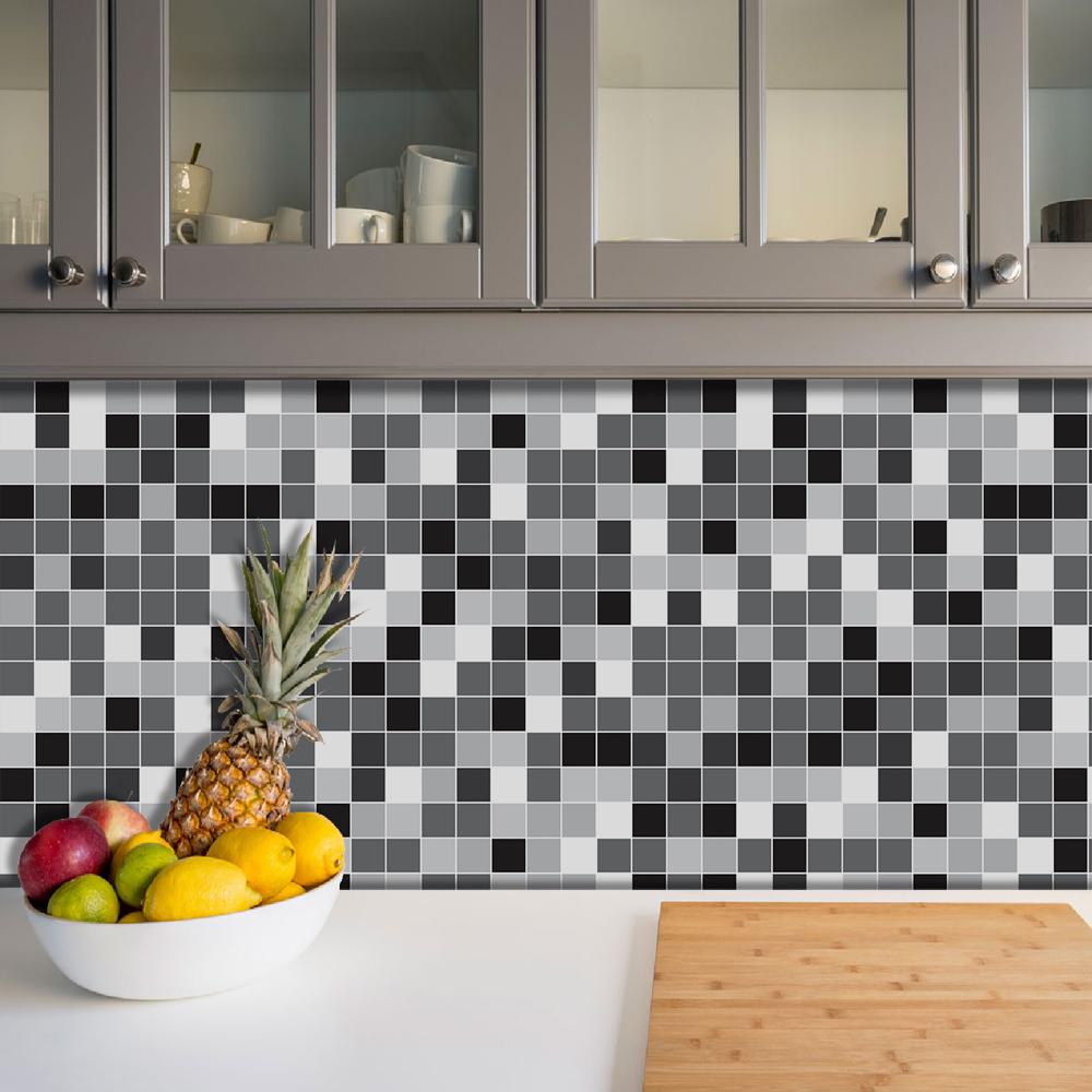 Azulejos Adesivos Pastilha Cozinha Banheiro Decoração Mod4