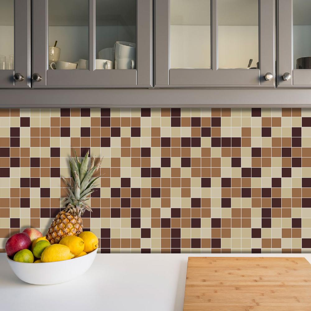 Azulejos Adesivos Pastilha Cozinha Banheiro Decoração Mod5