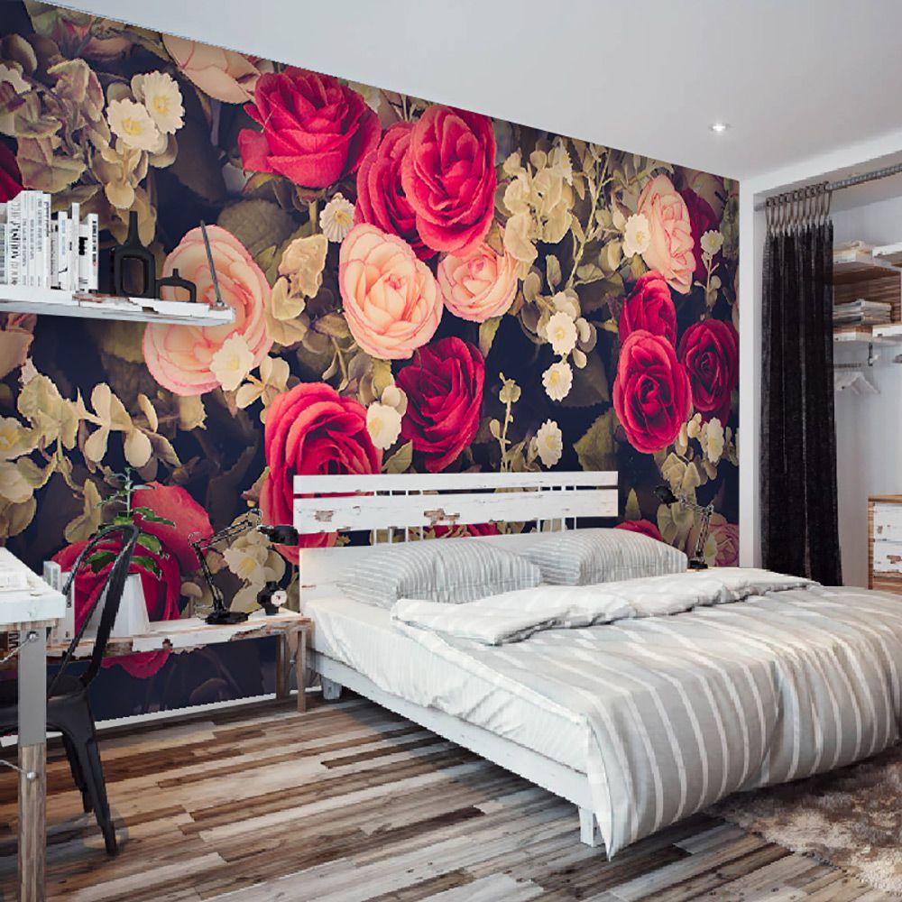 Painel Adesivo Fotográfico Floral Flores 7,2m² M1