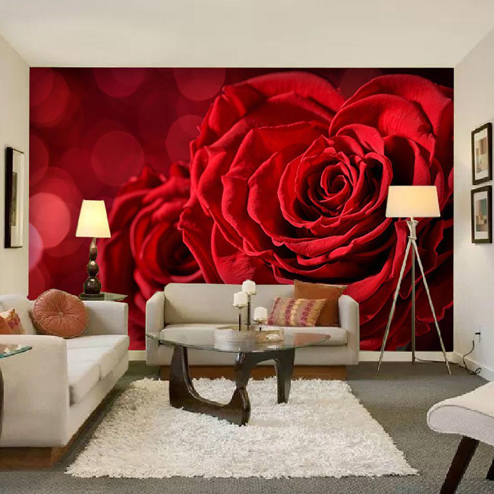 Painel Adesivo Fotográfico Floral Flores 7,2m² M5