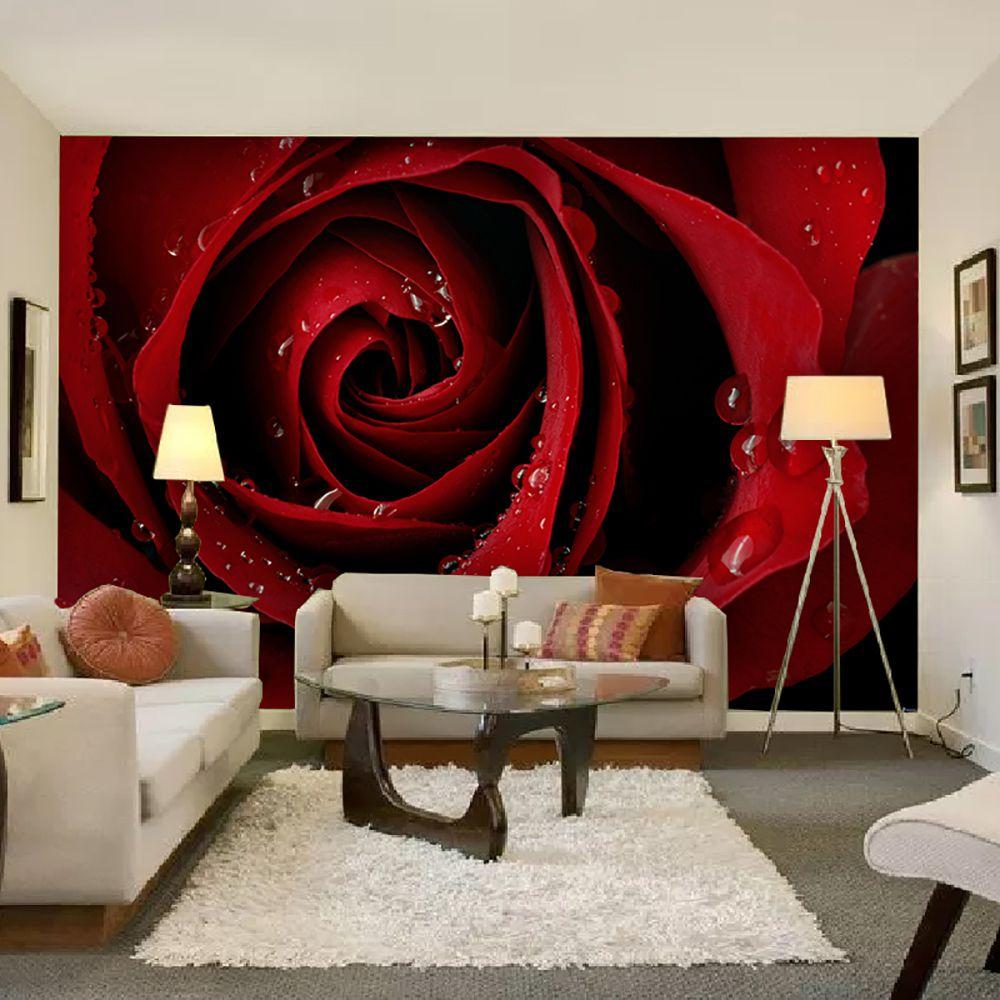 Painel Adesivo Fotográfico Floral Flores 7,2m² M7